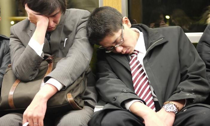 Los Salaryman de Tokyo