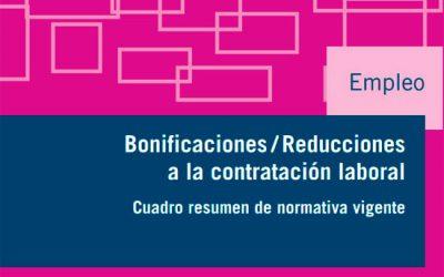 Guía Bonificaciones a la Contratación Laboral 2020